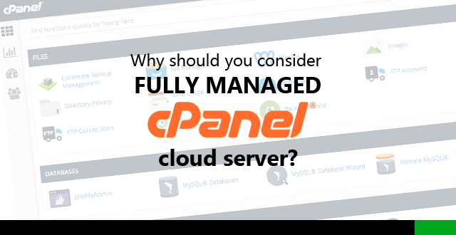 fully managed cpanel cloud server