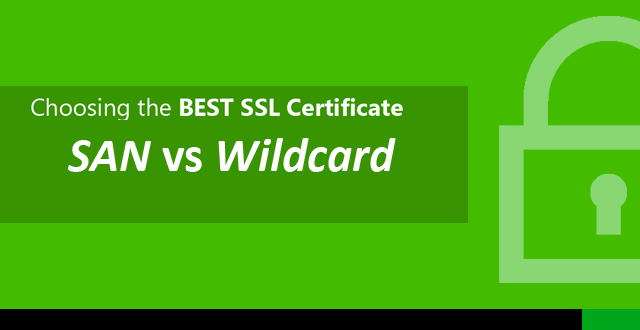SAN Wildcard SSL Certificates