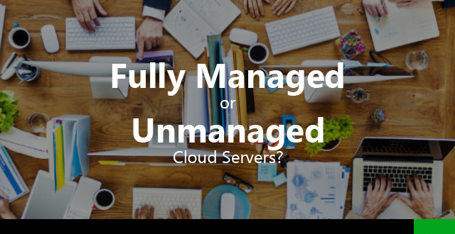 fully managed unmanaged cloud server