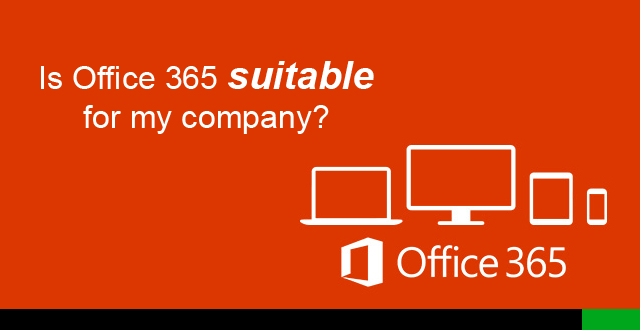 Is Office 365 suitable for my company? Email Hosting in detail