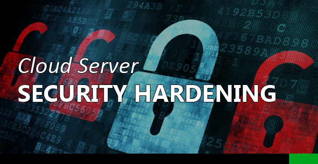 cloud server security hardening