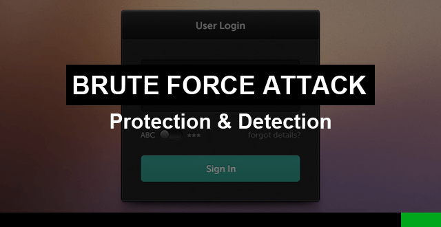 brute force attack protection