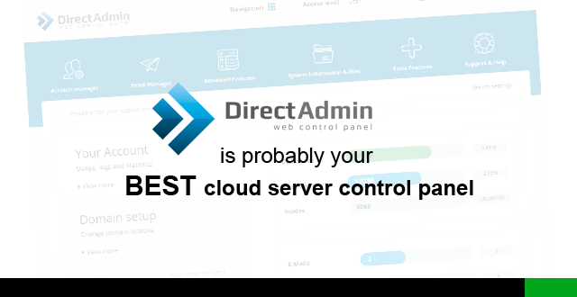 Fully Managed Directadmin Cloud Server