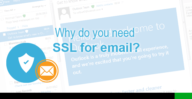 ssl certificate for email server